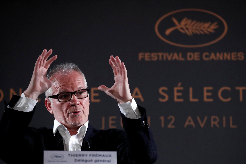 Thierry Frémaux, délégué général du Festival de Cannes 2018.