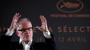 Thierry Frémaux, delegado geral do Festival de Cannes de 2018.