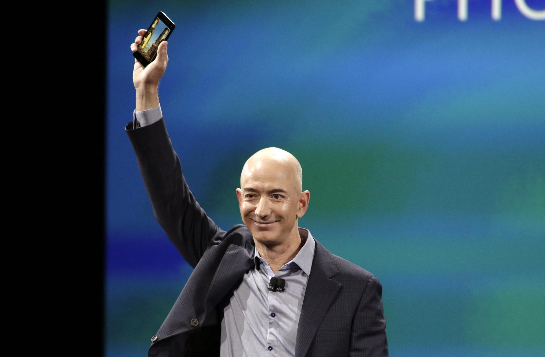 ស្ថាបនិកAmazon លោក Jeff Bezos ក្លាយជាអ្នកមានជាងគេបំផុតនៅលើពិភពលោក