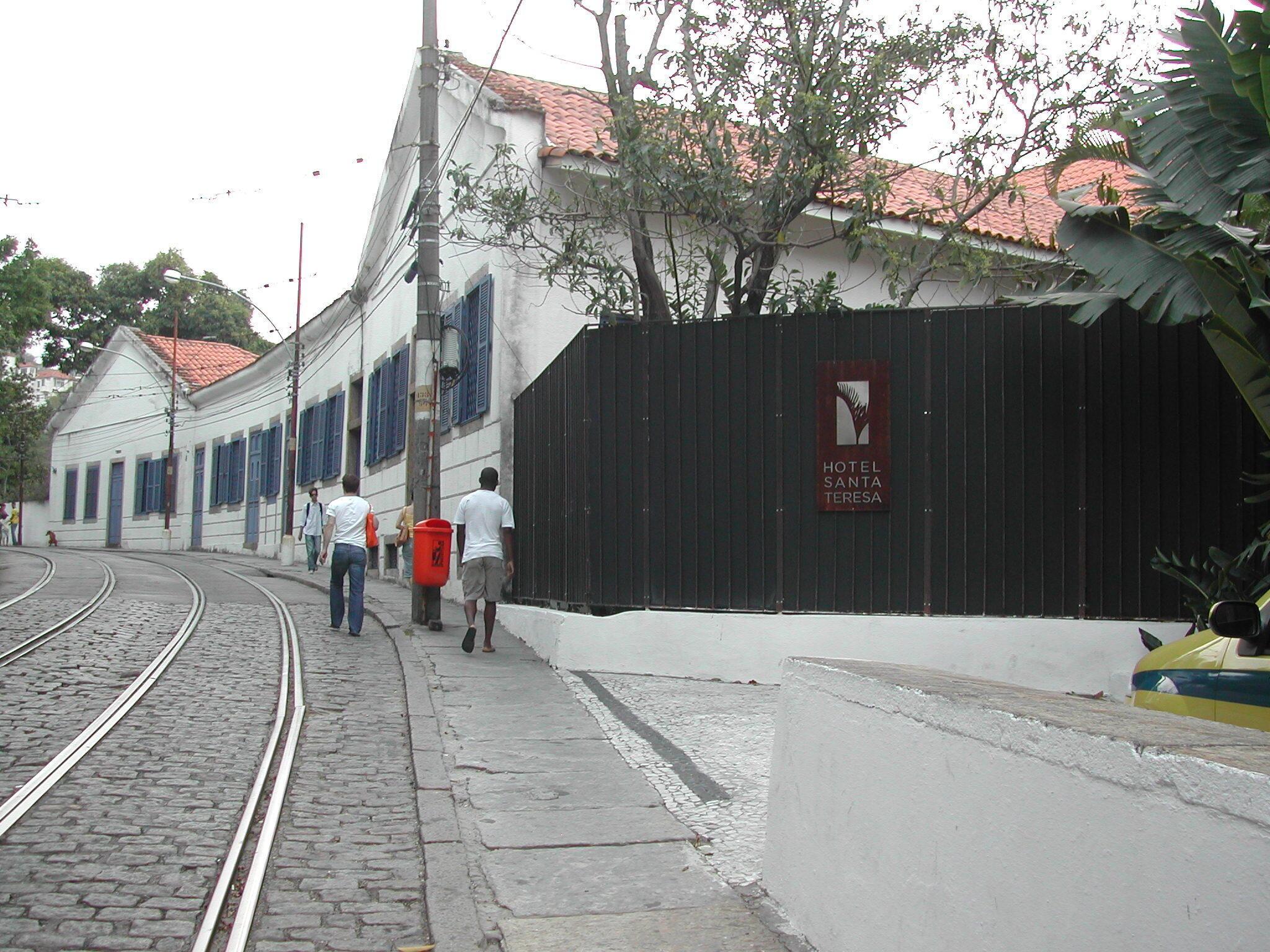 Bairro de SantaTeresa no Rio de Janeiro.