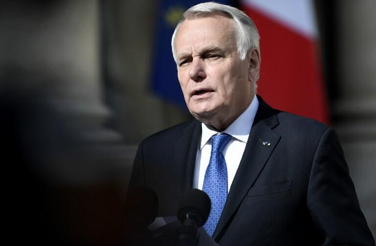 French Foreign Affairs Minister Jean-Marc Ayrault announces the findings of the French inquiry into the attack