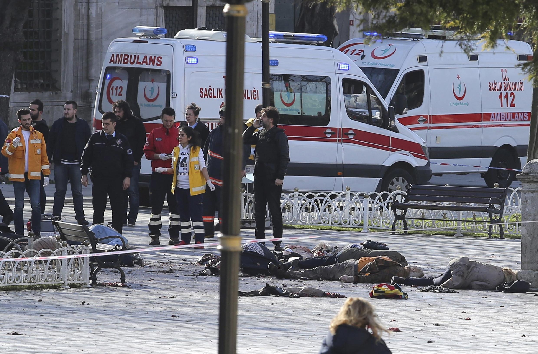Polisi yazingira eneo la shambulio katikati mwa Istanbul.