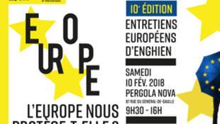 10ème édition Entretiens européens d'Enghien, le samedi 10 février 2018.