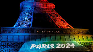 巴黎埃菲爾鐵塔迎接2024夏季奧運會