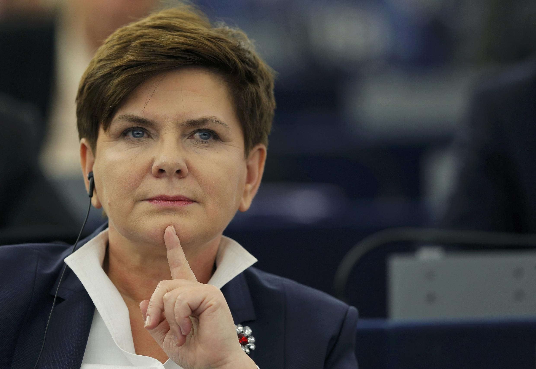 Beata Szydlo, waziri Mkuu wa Poland.