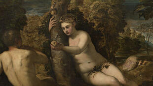 Le Péché originel vers 1551-1552, huile sur toile 150 x 220 cm Venise, Galerie de l'Académie.