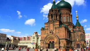 哈爾濱聖索菲亞大教堂,現為哈爾濱建築藝術館。