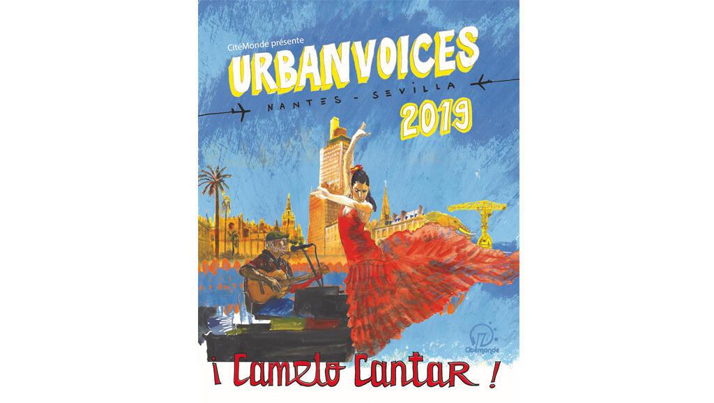 Affiche de l'évènement Urban Voices.