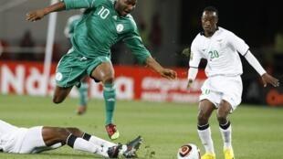 Le Nigerian John Obi Mikel (centre).