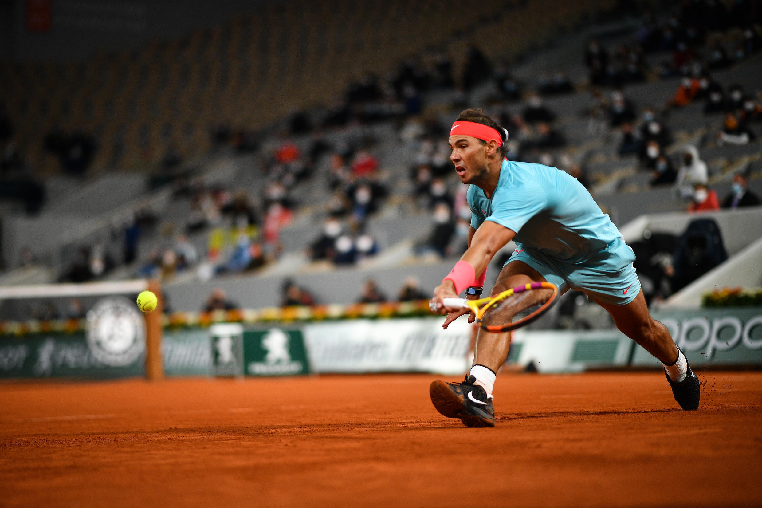 Rafael Nadal won the French Open title for a 13th time last year