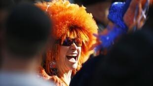 La fièvre du Super Bowl s'est emparée de cette New Yorkaise !