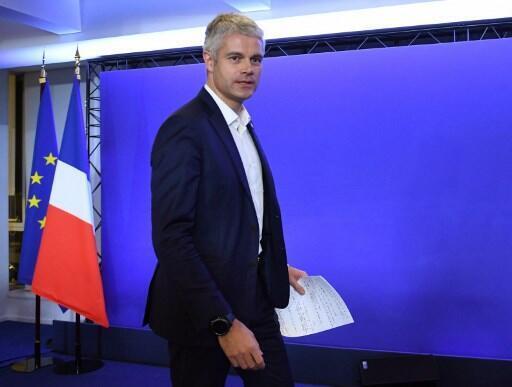 Le président de la région Auvergne-Rhône-Alpes, Laurent Wauquiez.