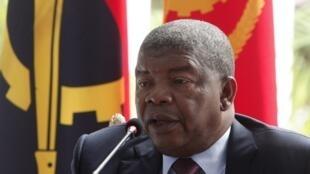 Presidente de Angola, João Lourenço. Palácio Presidencial, Luanda. 8/01/2018.