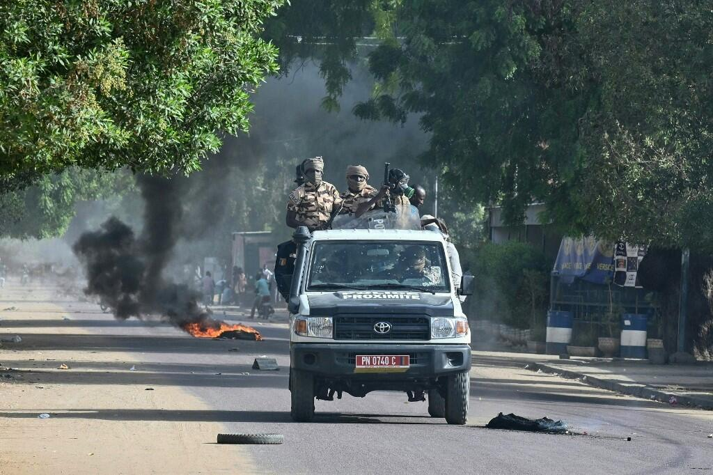 tchad ndjamena manifestation police sécurité