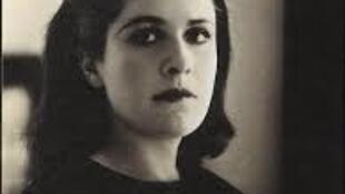 Photo portrait of Dora Maar circa 1937 by Rogi André,at the Dora Maar retrospective Dora Maar, Centre Pompidou, June 2019
