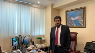 Goulam Mohammad, directeur du Centre de la diaspora afghane en Russie.