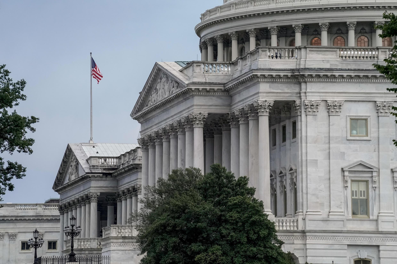 美國國會大廈資料圖片