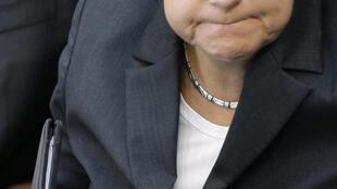 Angela Merkel au Bundestag de Berlin le 8 septembre 2009.