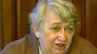 Bà Marina Salié, nguyên ủy viên hội đồng thành phố Saint-Pétersbourg (ảnh chụp năm 2010).