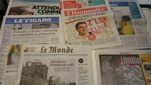 Diários franceses05/08/2015