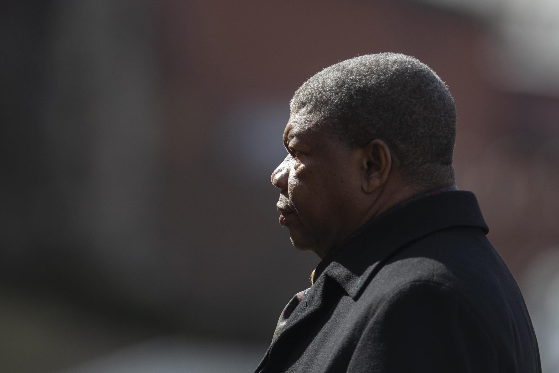 O Presidente angolano, João Lourenço. Imagem de arquivo de 4 de Abril de 2019 em Moscovo.