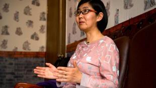 中國維權律師王宇資料圖片