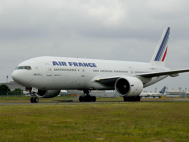 យន្តហោះ Boeing 777 របស់ក្រុមហ៊ុន Air France