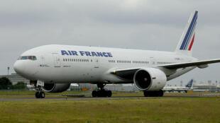 an Air France Boeing 777