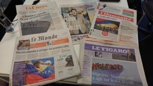 Diários franceses 28.07.2017