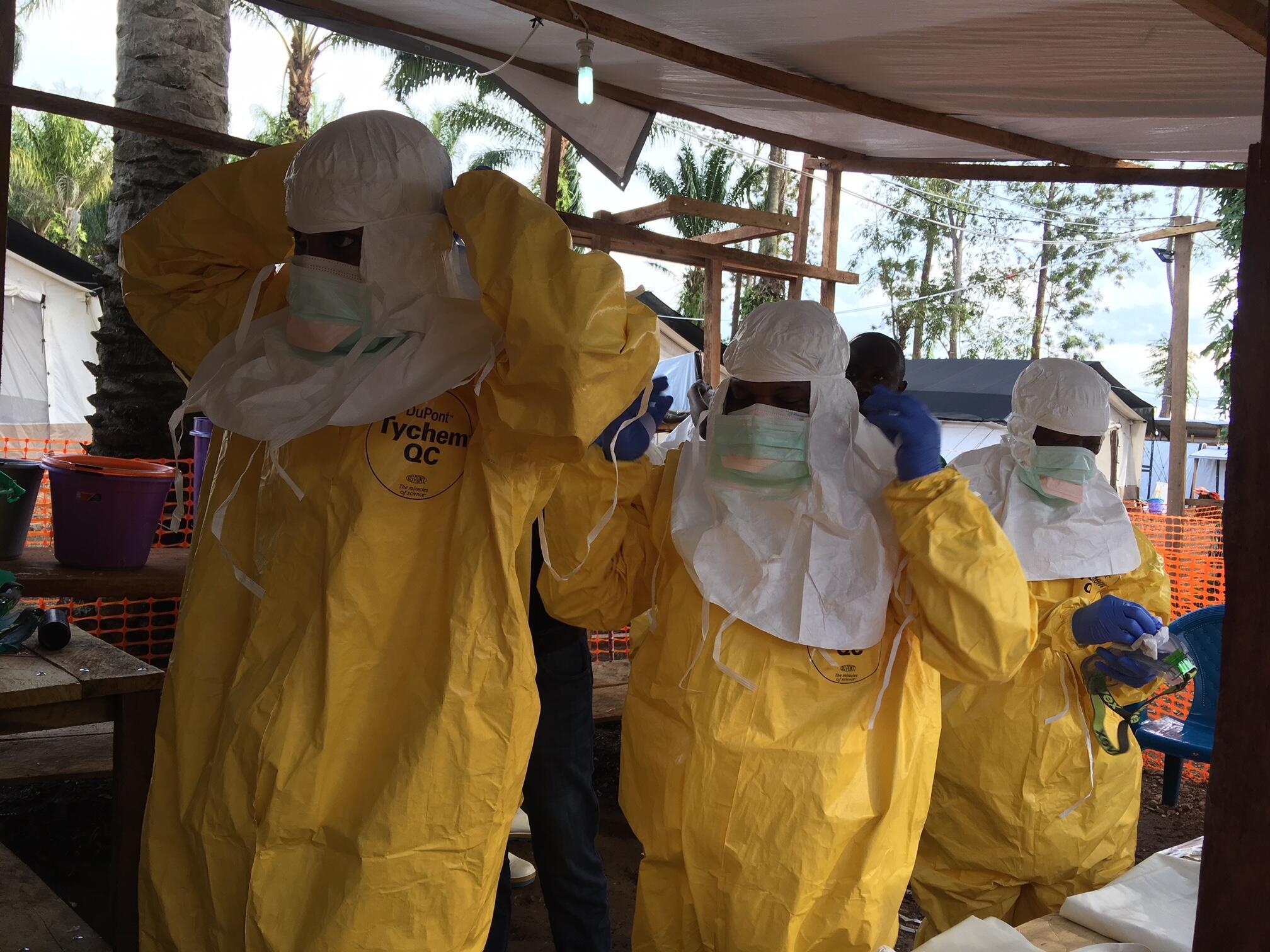 Wataalamu wa afya katika makabiliano na mlipuko wa Ebola jimboni Kivu kaskazini