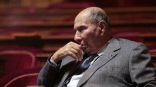 Serge Dassault au Sénat, le 16 septembre 2013.