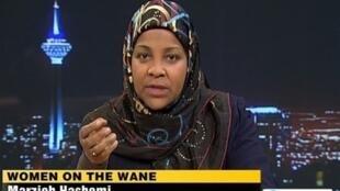 """""""ملانی فرانکلین"""" مجری آمریکاییالاصل تلویزیون """"PRESSTV""""، شبکه انگلیسیزبان صدا و سیمای جمهوری اسلامی ایران که پس از گرویدن به دین اسلام نام """"مرضیه هاشمی"""" را برای خود برگزید، روز یکشنبه ٢٣ دی/ ۱٣ ژانویه ٢٠۱٩ در سفرش به آمریکا توسط پلیس این کشور بازداشت شد."""