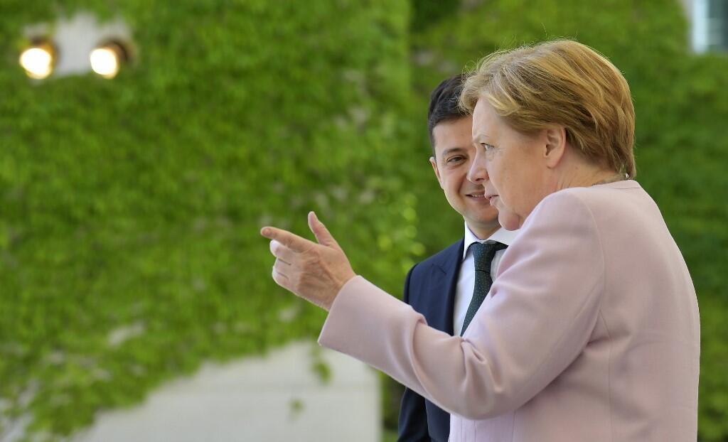 Первый официальный визит президента Владимира Зеленского в Берлин, 18 июня 2019
