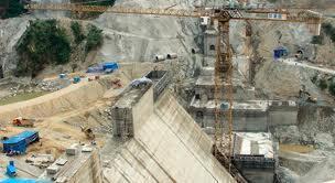 Đập thủy điện Myitsone ở  bang Kachin, Miến Điện