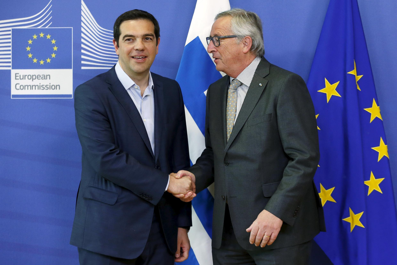 Jean Claude Junker e Alexis Tsipras agendaram nova reunião depois do jantar de quarta-feira(3).