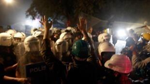 Parc Gezi, Istanbul, le 15 juin 2013.