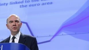 Pierre Moscovici diz que ainda há desafios