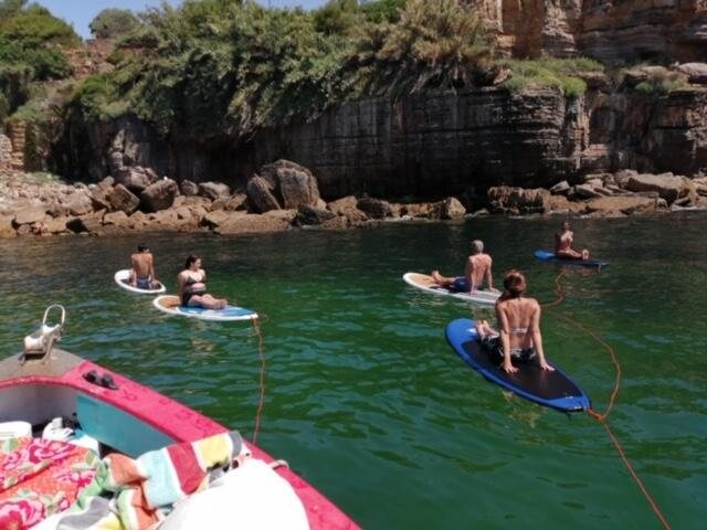 Yoga no stand up paddle