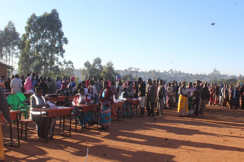Wapiga kura nchini Malawi Mei 21 2019