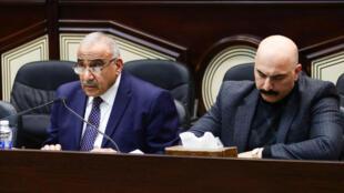 C'était une lettre «très claire», a commenté le Premier ministre irakien Adel Abdel Mahdi (ici le 5 janvier 2020 à Bagdad).