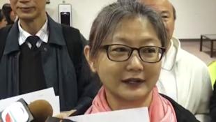 香港「鸠呜团」代表钱宝芬