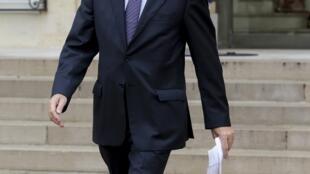 Le Premier ministre français Jean-Marc Ayrault.