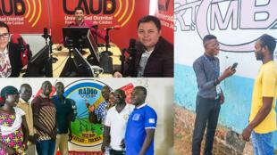 Radios partenaires de RFI en Colombie, au Tchad et en RDC.