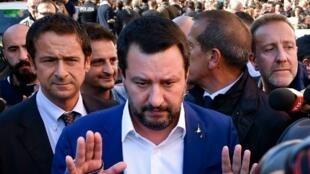 Ministro italiano do Interior, Matteo Salvini, disse que o Governo não vai alterar o Orçamento de 2019.