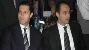 جمال و علاء مبارک، پسران حسنی مبارک، رئیس جمهور معزول مصر