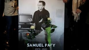 2020-10-21 france samuel paty tribute photo