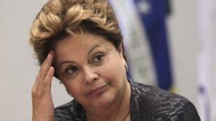 Dilma Rousseff, Shugabar kasar Brazil