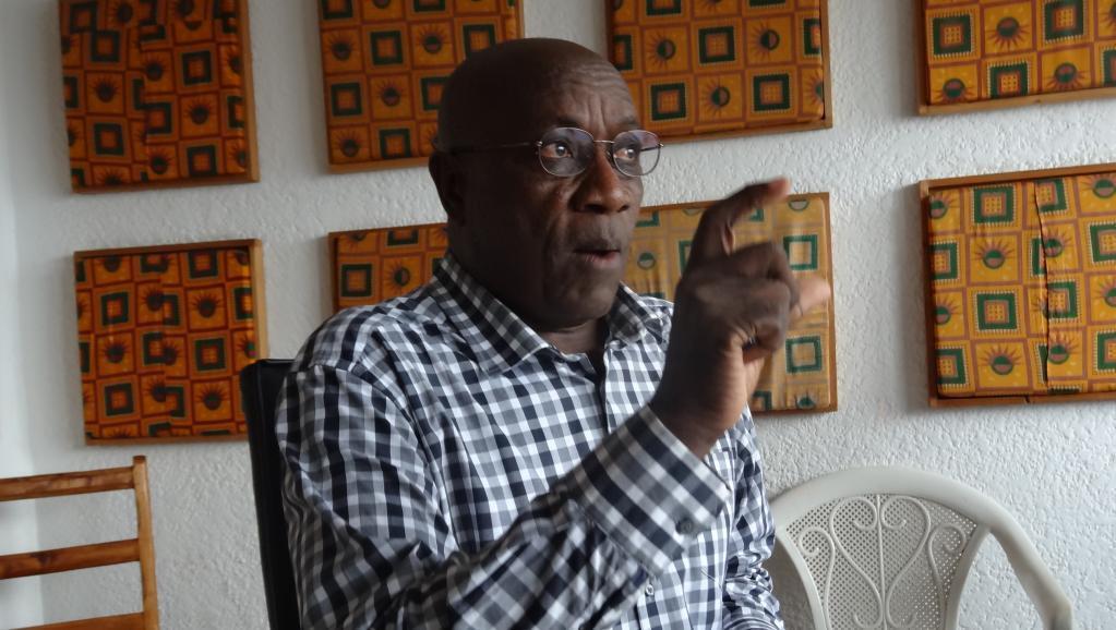 Festus Ntanyungu, mbunge na waziri wa zamani, akiwa msemaji wa kundi la vigogo katika chama tawala Burundi cha Cndd-Fdd wanaopinga Rais Pierre Nkuruziza kugombea muhula wa tatu.