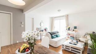 Una de las viviendas particulares propuestas en internet en alquiler para vacaciones.