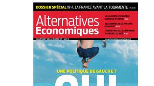 Alternatives économiques, numéro de juillet 2014.